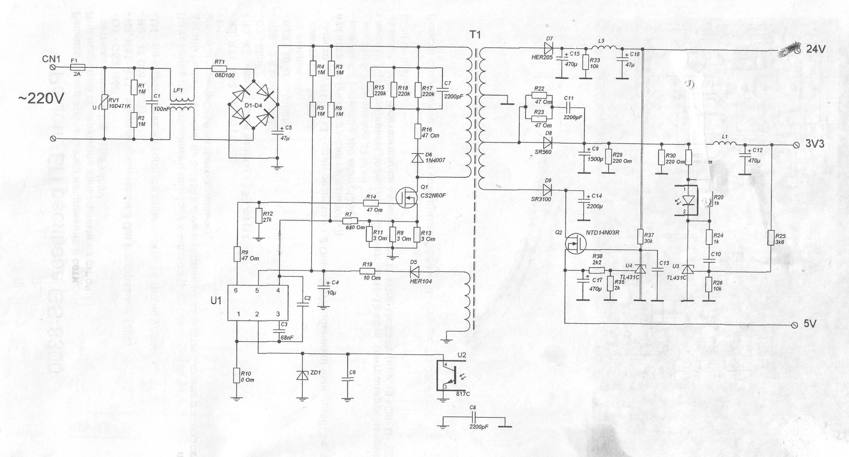 схема подключения двух телевизоров ресиверу 8306