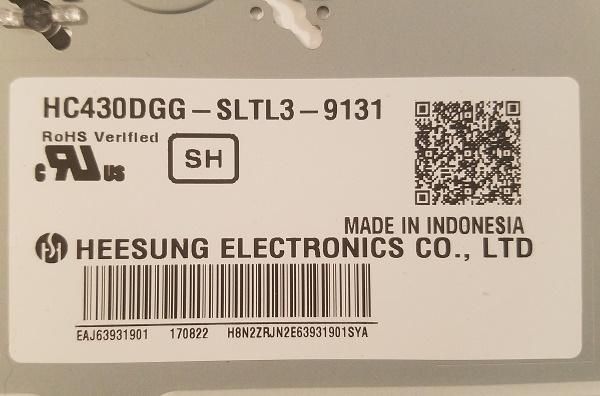 HC430DGG-SLTL2