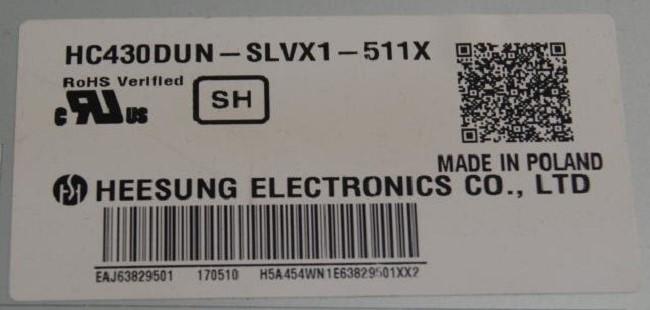 HC430DUN