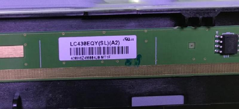 LC430EQY-SLA2 . Panasonic TX-FXR600