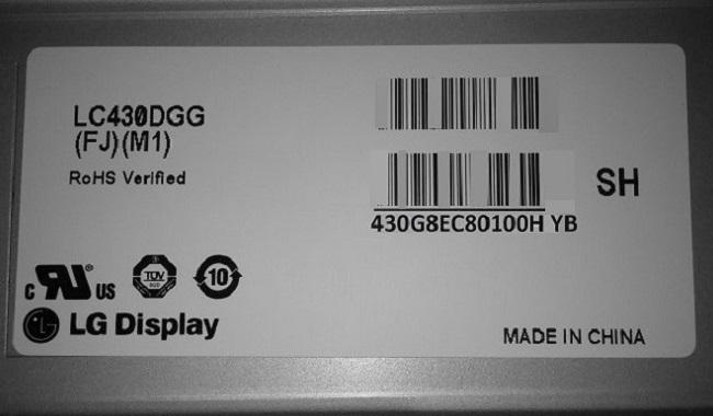 матрица для LG 43UH676V