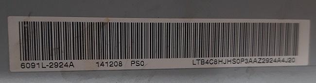 подсветка LC500DUH-PGF2   6091L-2924A