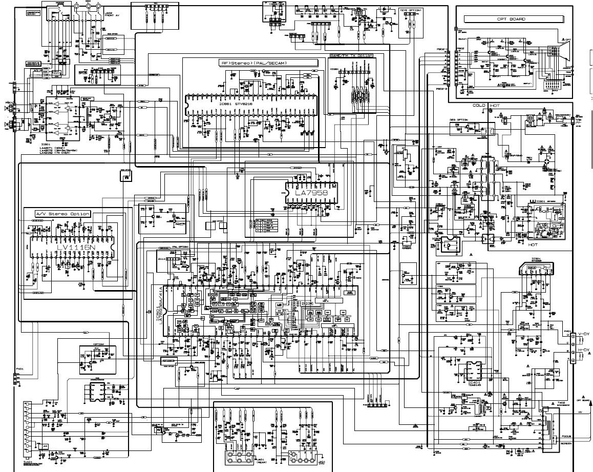 Схема шасси mc-059c lg